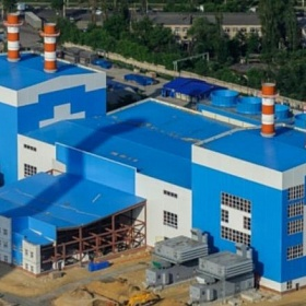 Reconstruction of Voronezh HPP-1. Construction of GSU-223 MW
