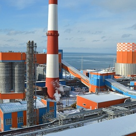 Sakhalin TPP-2. The first stage of construction