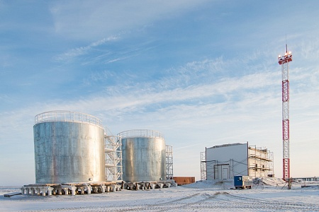 Infrastructure development of East Messoyakha Deposit. Storage Tanks Protection