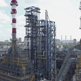 Сombined Oil Refining Unit EURO + (CORU).  Gazprom Neft Moscow Refinery