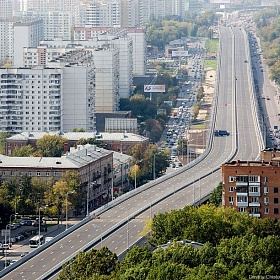 Reconstruction of Mozhaisk Highway (Kutuzovsky Prospectus) from Moscow Ring Road to the Garden Ring Road, the overpass in the area from Ryabinovaya Str. to Govorov Str